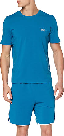BOSS Mens Mix&Match T-Shirt R, Blue (Turquoise/Aqua 442), Small
