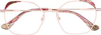 Etnia Barcelona oversized square frame glasses - Rosa
