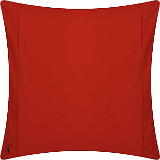 Ralph Lauren Home Polo Player Pillowcases - Red Rose - Set of 2 - 65x65cm
