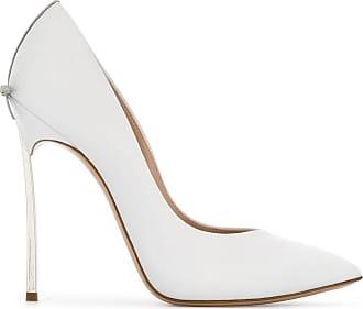 Casadei Scarpin color block - Branco