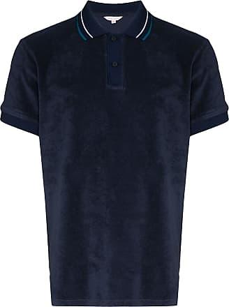 Orlebar Brown Camisa polo Sawyer de algodão - Azul