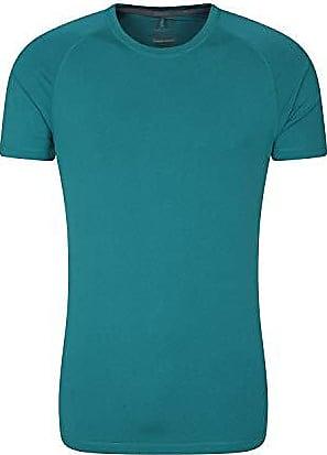 atmungsaktiv Reisen Wandern Hellblau Medium f/ür Fitnessstudio UPF-30-Schutz Mountain Warehouse Endurance Herren-T-Shirt leichtes bequemes und schnell trocknendes Oberteil