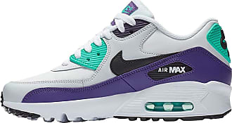 Nike Youth Air Max 90 LTR Leather White Trainers 5.5 UK
