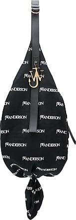 J.W.Anderson Bolsa sacola estampada com logo - Preto