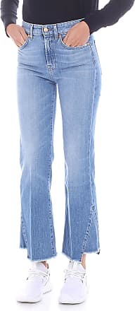 7 For All Mankind Light blue crop jeans