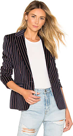 Rag & Bone Lexington Velvet Blazer in Navy