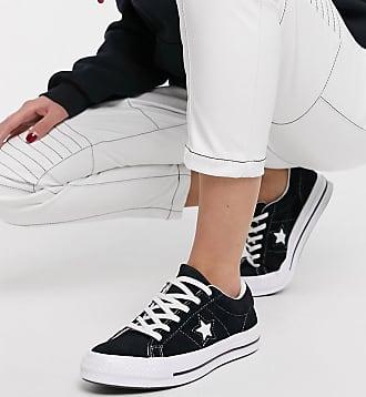 Converse One Star - Schwarze Sneaker aus Wildleder