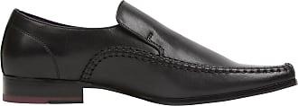 Firetrap Mens Hampton Sl Shoes Lace Up Smart Formal Loafers Footwear Black UK 8.5