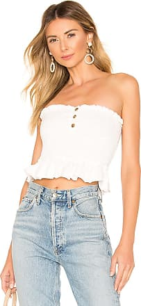 Free People Babe Tube Top in White