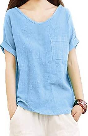 S-5XL Damen O Neck Langarm Bluse Tops Sommer Lose Baumwolle Linen Hemd Shirts