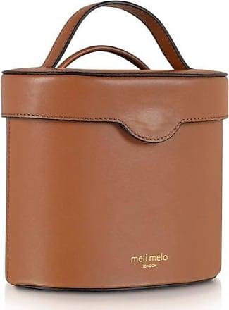 Meli Melo Meli Melo Kitty Almond Brown Leather Cross Body Bag for Women