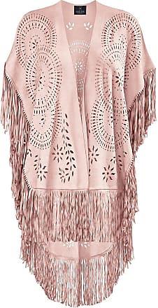 Madeleine Poncho in rosa MADELEINE Gr ohne, rose für Damen. Elasthan, Polyester. Handwäsche