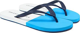 Orlebar Brown Haston Two-tone Rubber Flip Flops - Blue