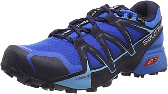 Salomon Salomon Mens Speedcross Vario 2 GTX, Trail Running Shoes Waterproof, Blue (Sky Diver/Indigo Bunting/Navy Blazer), Size 9.5