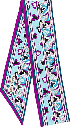 Emilio Pucci small printed scarf - Pink