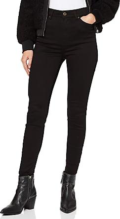 Pieces Womens Pcnora Skn Hw ANK Stay Bl617/noos Skinny Jeans, Black (Black Black), 12 (Size: Medium)
