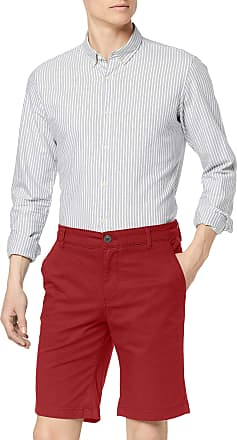Selected Homme Mens SLHSTRAIGHT-Paris Shorts W NOOS, Red (Brick Red Brick Red), M