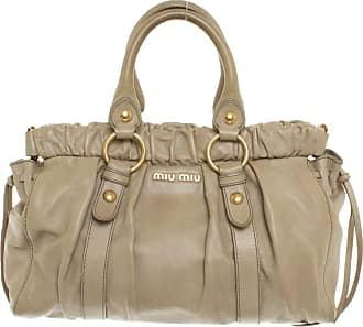 a1ad85e89dbfc Miu Miu gebraucht - Handtasche aus Leder - Damen - Beige - Leder