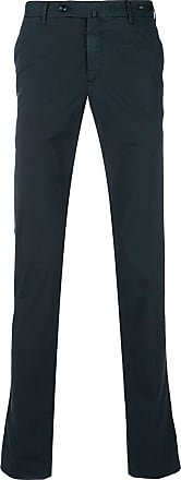 PT01 slim fit tailored trousers - Blue
