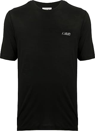 Kirin logo print T-shirt - Black