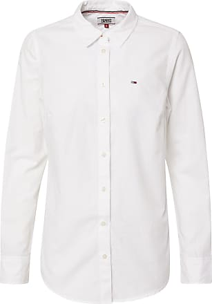 Tommy Jeans Bluse OXFORD weiß
