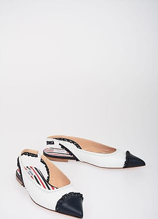 Thom Browne Leather Slingback Ballet Flats size 39,5
