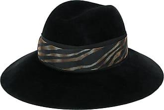 Borsalino Cappello a tesa larga Claudette - Di colore nero