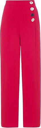 Market 33 Calça Pantalona Lisa Market 33 - Vermelho