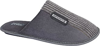 Zedzzz Mens Joe Sports Mule Slippers (10 UK) (Grey)