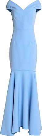 Langes mit schlitz kleid blaues Maxikleider
