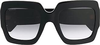 Gucci Óculos de sol oversized - Preto