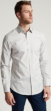 Hackett Mens Multi Coloured Check Cotton Shirt | Medium | Green/Pink
