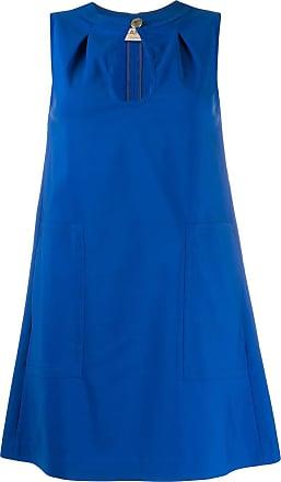 Blanca Vestido Goccia - Azul