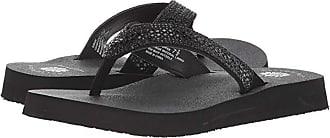 Yellow Box Soriano (Black) Womens Sandals