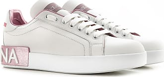 Dolce & Gabbana Sneakers for Women On Sale, White, Leather, 2019, 2.5 3 3.5 4 4.5 5.5 6 6.5 7.5 8.5