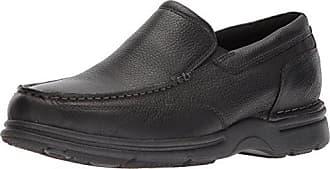 Rockport Mens Eureka Plus Slip On Oxford, black, 12 W US