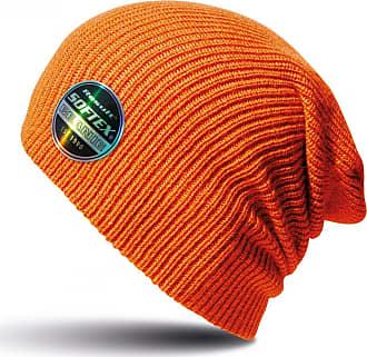 Result Winter Essentials Core Softex Beanie Hat (One Size) (Orange)