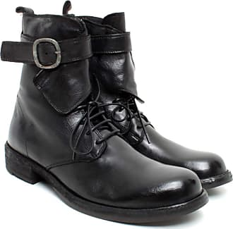 Officine Creative Womens Ankle Boots Legrand/142 Leather Black