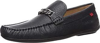 MARC JOSEPH NEW YORK Mens Leather Made in Brazil Wall Street Driver Loafer