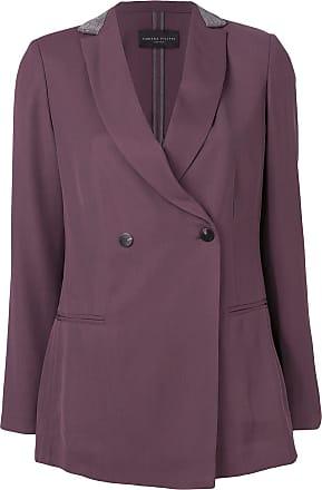 Fabiana Filippi double breasted jacket - Purple