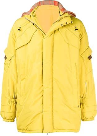 Qasimi hooded parka - Yellow