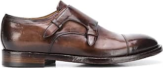 Officine Creative polished monk shoes - Brown