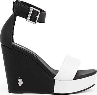 U.S.Polo Association U.S. Polo Assn Wedge AYLIN4205S0_Y1 Women - Black - 7