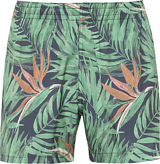 Ellus SHORTS MASCULINO HAWAII - VERDE