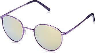 Polaroid Unisexs Pld-6010-s-pji-lm Sunglasses, Matt Violet/Grey Goldmir Pz, 51