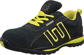Groundwork Gr86, Unisex Adults Safety Trainers, Navy/Yellow, 13 UK (47 EU)