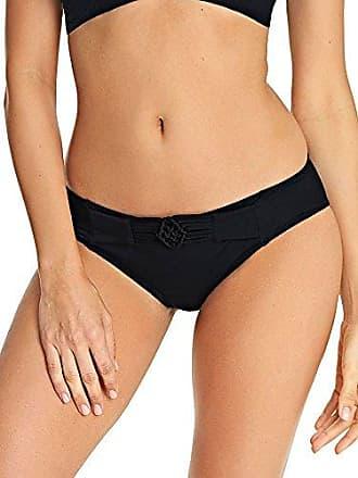 Freya Womens Macramé Hipster Bikini Brief, Black, S