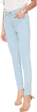 Enna Calça Jeans Enna Skinny Pespontos Azul