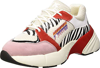 629ec5625b2 Pinko Womenss Ametista Sneaker St.Zebra Slip On Trainers Multicolour (Bianco /Nero/