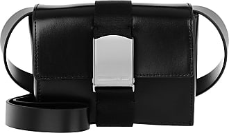McQ by Alexander McQueen Christine Deluxe Small Crossbody Bag Black Umhängetasche schwarz